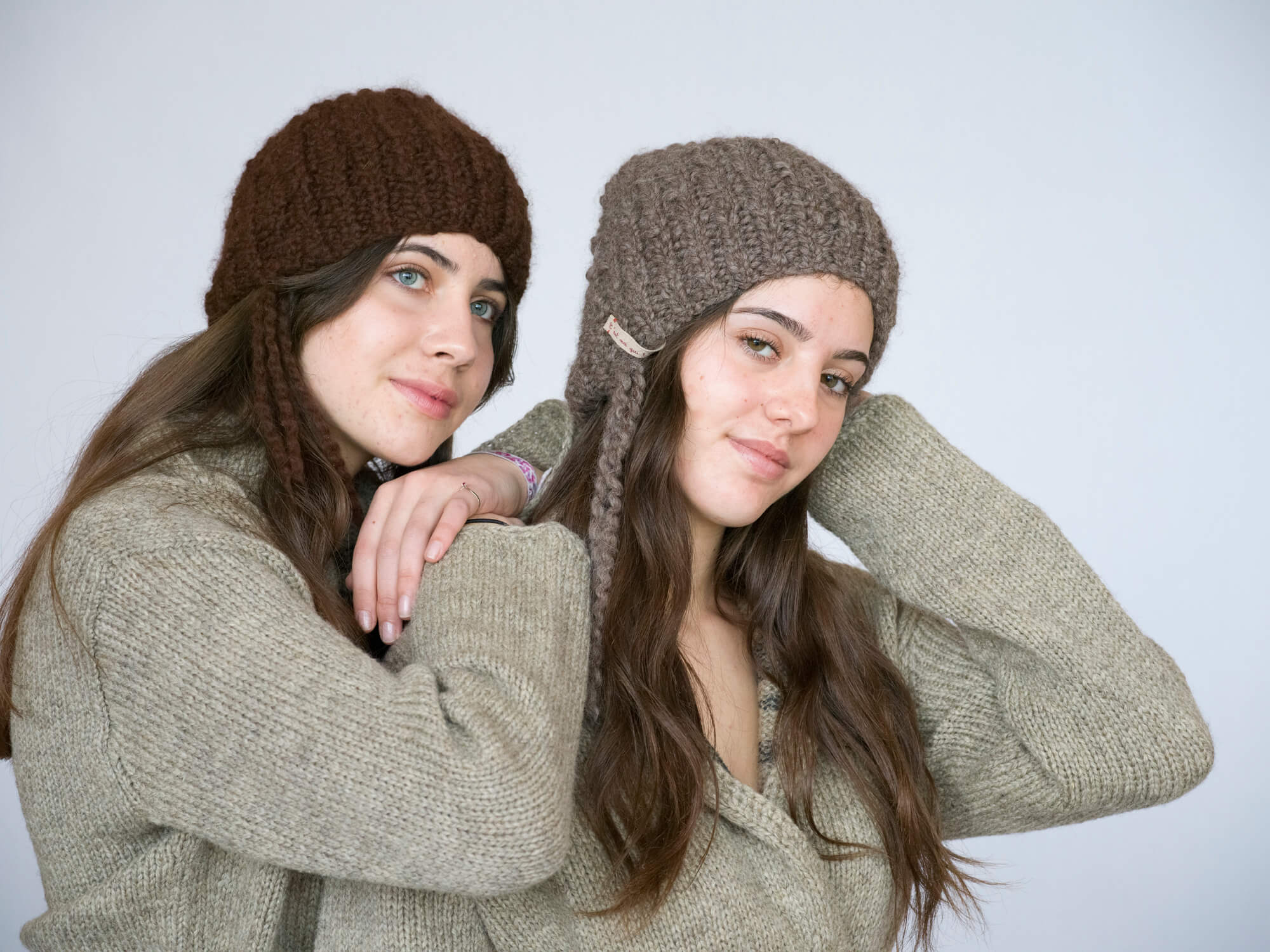 ensemble veste bonnet