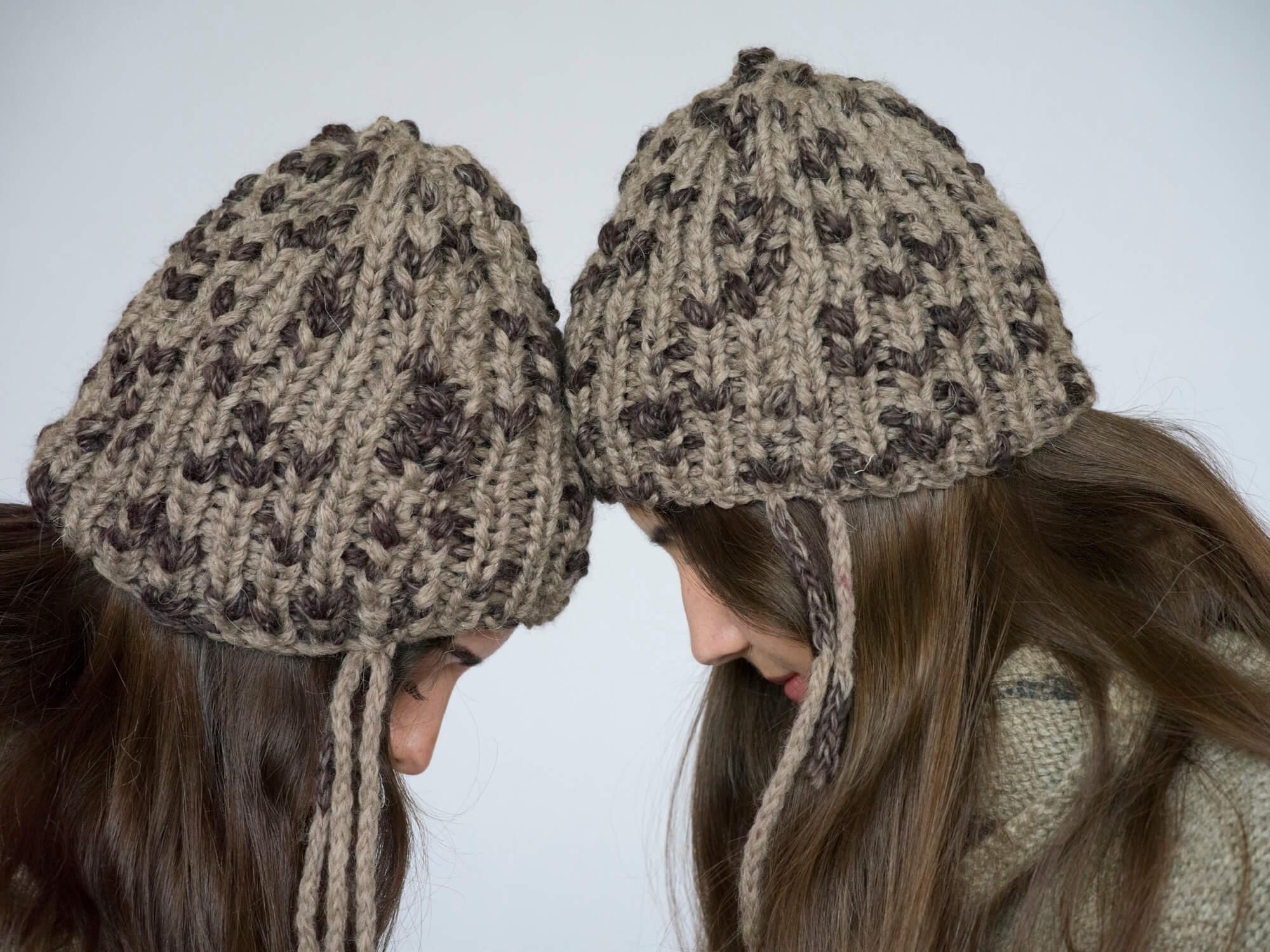 bonnets gris